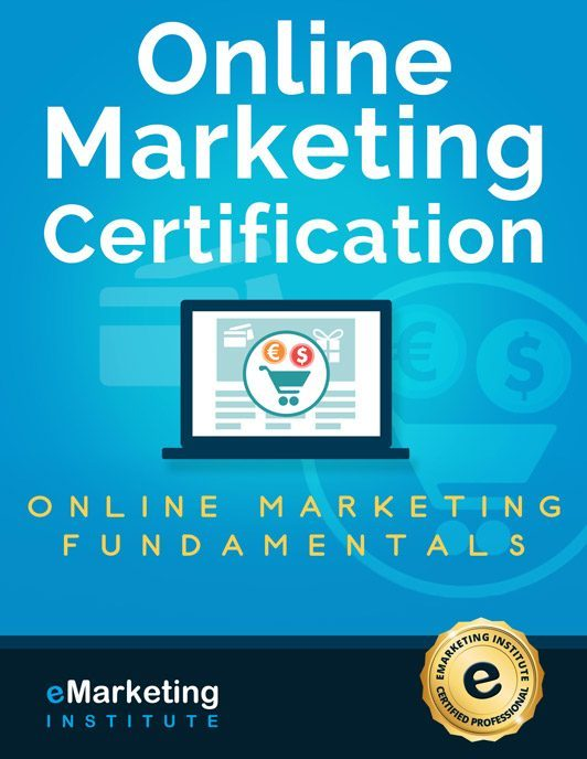 Free Online Marketing Certification Course Emarketing Institute