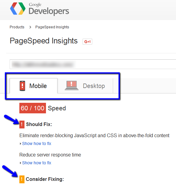 page-speed
