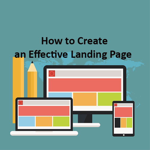 Create effective landing page