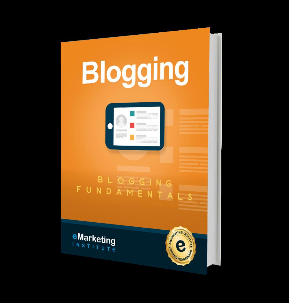 3D Blogging eMarketing Institute 1