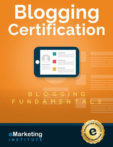 Blogging Course and Certification (FREE)