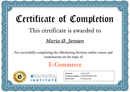 free e-commerce certification course | emarketing institute