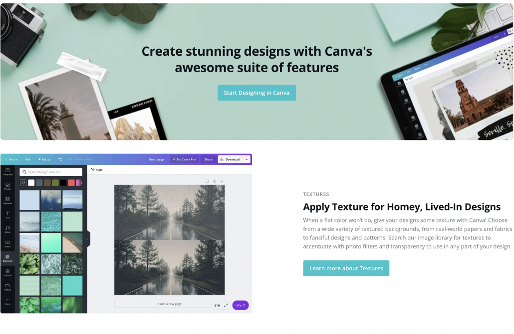 Use Canva to create graphics for Instagram