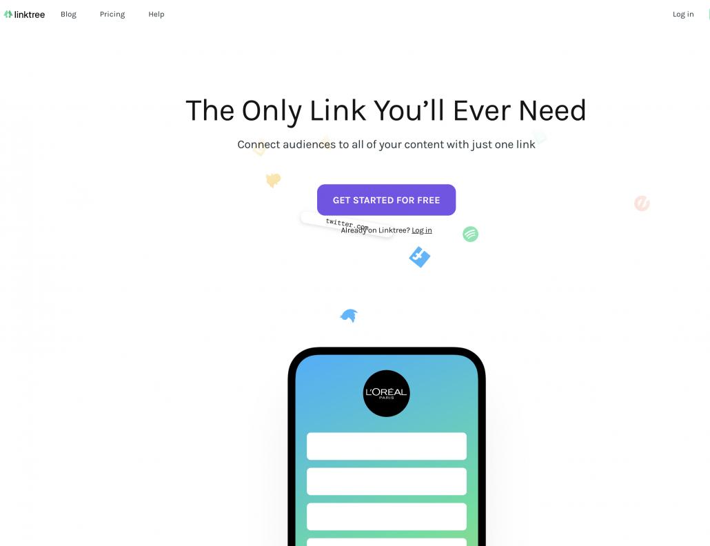 LinkTree tool